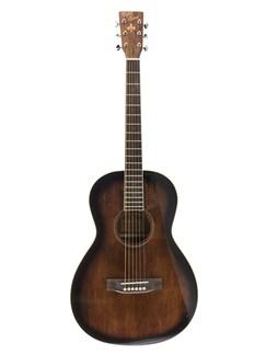 Pure Tone: Virginia Parlour Acoustic Guitar - Antique Violin Gloss Instruments | Acoustic Guitar