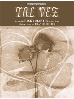 Ricky Martin: Tal Vez Books | Piano, Voice, and Guitar Chord Boxes