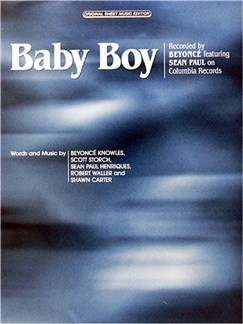 Beyonce Featuring Sean Paul: Baby Boy Books | Piano and Voice, with Guitar chord boxes