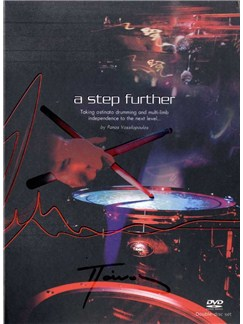 Panos Vassilopoulos: A Step Further Drums (2 DVDs) DVDs / Videos | Drums
