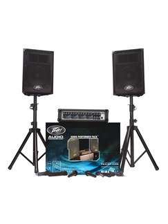 Peavey Audio Performer Pack (100w) PA System Instruments |