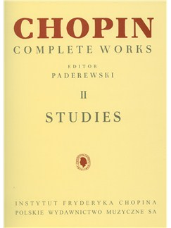 Frederic Chopin: Complete Works Volume 2 - Studies Books | Piano