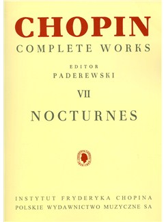 Frederic Chopin: Complete Works Volume 7 - Nocturnes Books | Piano