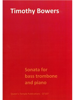 Timothy Bowers: Sonata for bass trombone and piano Books | Piano, Piano Accompaniment