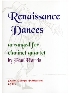 Renaissance Dances arranged for Clarinet Quartet Books | Clarinet
