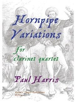 Paul Harris: Hornpipe Variations Books | Clarinet(Quartet)