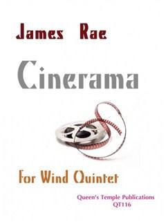 James Rae: Cinerama (Wind Quintet) Books | Wind Quintet