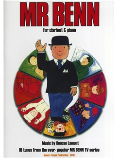 Duncan Lamont: Mr. Benn - 10 Tunes From The TV Series Books | Clarinet, Piano Accompaniment