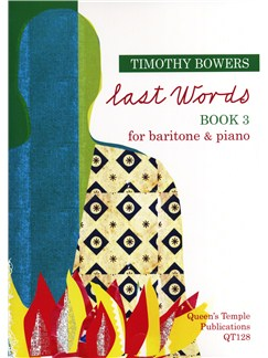Timothy Bowers: Last Words - Book 3 Books | Baritone Voice, Piano Accompaniment