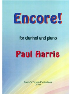 Paul Harris: Encore! Books | Clarinet, Piano Accompaniment
