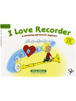 Sally Adams: I Love Recorder - Book 2 Books and CDs | Recorder