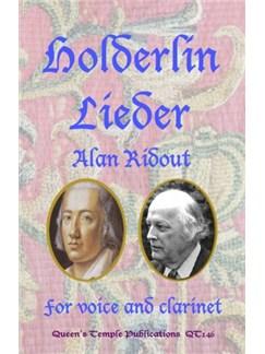 Alan Ridout: Holderlin Lieder Books | Voice, Clarinet