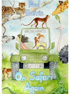 Paul Harris: On Safari Again Books | Clarinet (Duet)
