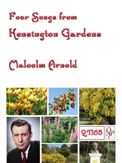 Malcolm Arnold: Four Songs From Kensington Gardens Books | Voice/Piano Accompaniment