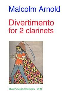 Malcolm Arnold: Divertimento (Clarinet Duet) Books | Clarinet (Duet)