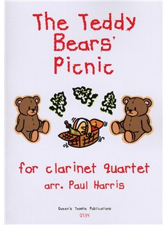John Bratton: The Teddy Bears' Picnic - Clarinet Quartet Books | Clarinet (Quartet)