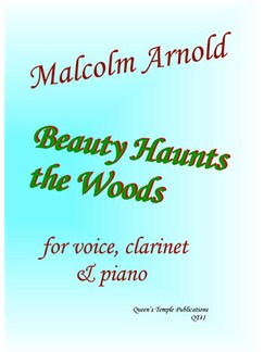 Beauty Haunts The Woods Books | Clarinet, Voice