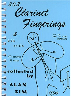 303 Clarinet Fingerings and 276 Trills Books | Clarinet