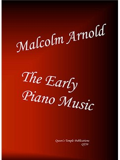 Malcolm Arnold: The Early Piano Music Books | Piano