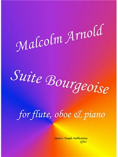 Sir Malcolm Arnold: Suite Bourgeoise (Flute, Oboe & Piano) Books | Flute, Piano Accompaniment