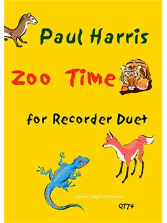 Paul Harris: Zoo Time For Recorder Duet Books | Recorder (Duet)
