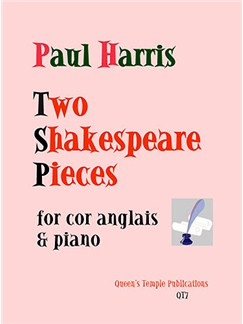 Paul Harris: Two Shakespeare Pieces Books | Cor Anglais, Piano Accompaniment