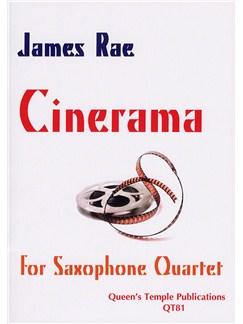 James Rae: Cinerama (Saxophone Quartet) Books | Saxophone