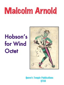 Malcolm Arnold: Hobson's For Wind Octet Books | Wind Ensemble