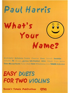 Paul Harris: What's Your Name? (Violin Duet) Books | Viol