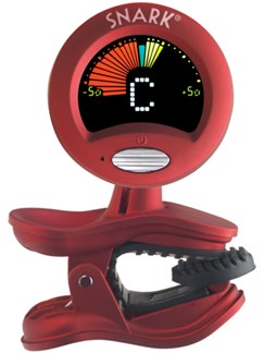 Quik Tune: Snark Clip-On Tuner  | Guitar/Bass Guitar/Ukulele/Violin/Cello/Viola