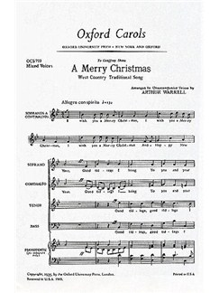 Arthur Warrell: A Merry Christmas Books | SATB