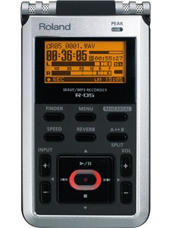 Roland: R-05 Wave/MP3 Recorder  |