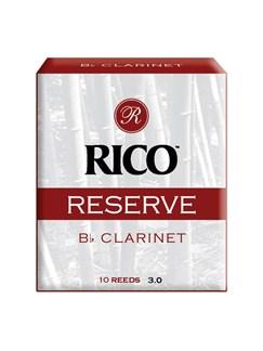 Rico: Reserve B Flat Clarinet Reeds - 2.5/10 Box  | Clarinet