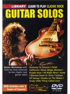 Lick Library: Learn To Play Classic Rock Guitar Solos DVDs / Videos | Guitar