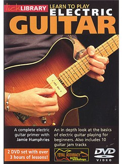 Lick Library: Learn To Play Electric Guitar (2DVD) DVDs / Videos | Electric Guitar
