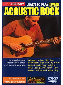 Lick Library: Learn To Play Easy Acoustic Rock DVDs / Videos | Guitar