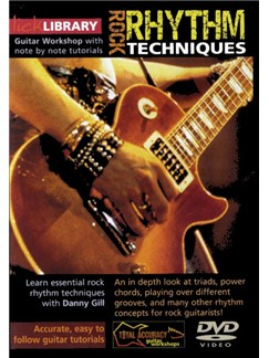 Lick Library: Rock Rhythm Techniques DVDs / Videos | Guitar