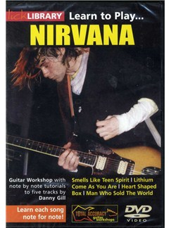 Lick Library: Learn To Play Nirvana DVDs / Videos | Guitar