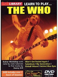Lick Library: Learn To Play The Who DVDs / Videos | Guitar