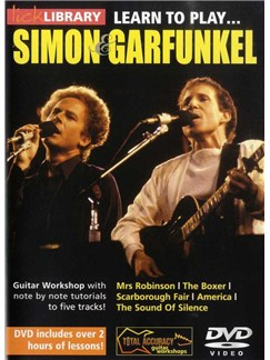 Lick Library: Learn To Play Simon And Garfunkel DVDs / Videos | Guitar