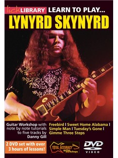 Lick Library: Learn To Play Lynyrd Skynyrd DVDs / Videos | Guitar