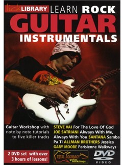 Lick Library: Learn Rock Guitar Instrumentals DVDs / Videos | Guitar