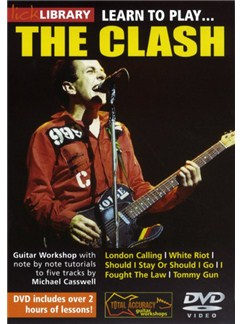 Lick Library: Learn To Play The Clash DVDs / Videos | Guitar