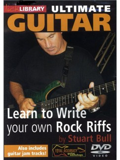 Learn To Write Your Own Rock Riffs DVDs / Videos | Guitar