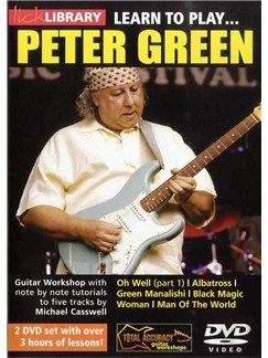 Lick Library: Learn To Play Peter Green (2 DVD) DVDs / Videos | Guitar