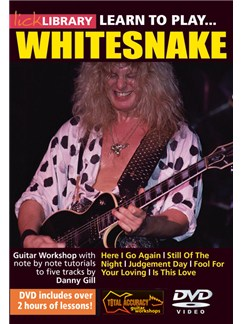 Lick Library: Learn To Play Whitesnake DVDs / Videos | Guitar