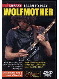 Lick Library: Learn To Play Wolfmother DVDs / Videos | Guitar