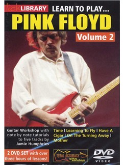 Lick Library: Learn To Play Pink Floyd Vol. 2 (2 DVD) DVDs / Videos | Guitar