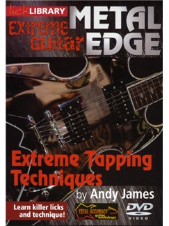 Lick Library: Metal Edge - Extreme Tapping Techniques DVDs / Videos | Guitar