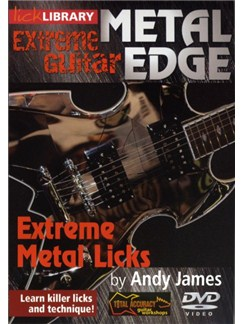 Lick Library: Metal Edge - Extreme Metal Licks DVDs / Videos | Guitar